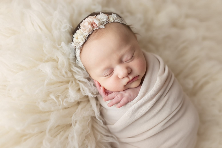 The newborn portrait experience explained